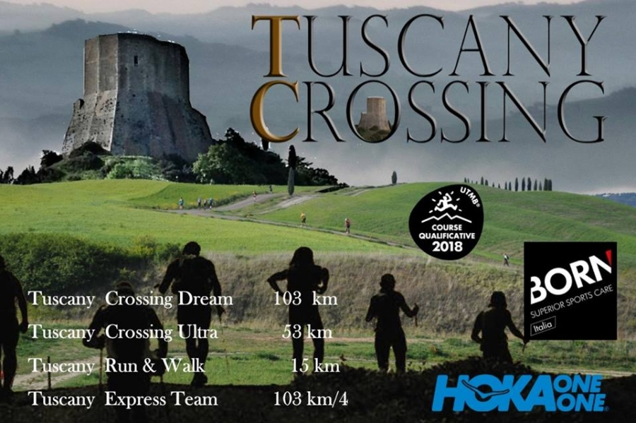 Logo TUSCANY CROSSING * 53 KM