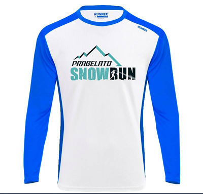 tshirt tecnica snow run400